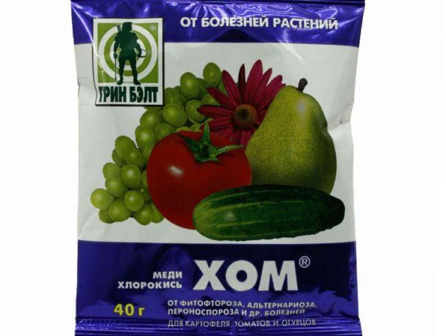 Хлорокись меди от болезней растений