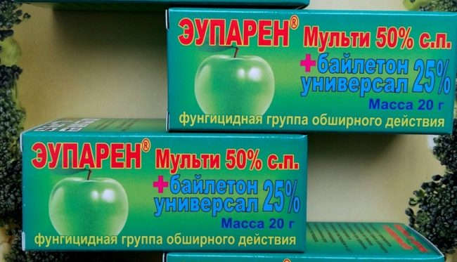 Средство Эупарен в упаковках