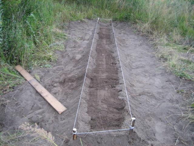 Подготовка грядки для посадки ремонтантной клубники на садовом участке