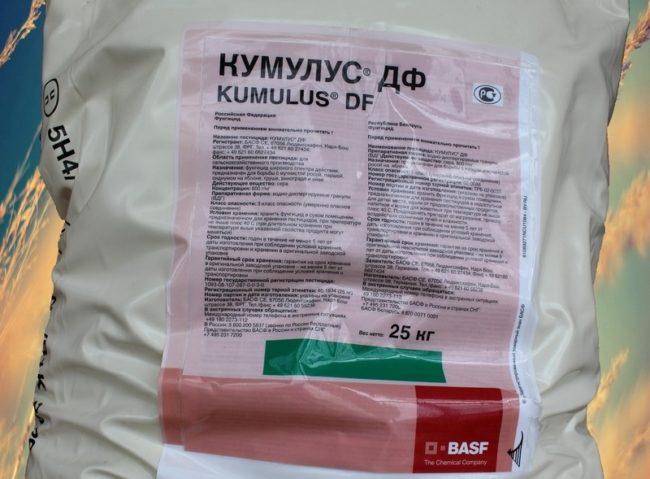 Препарат кумулус в упаковке