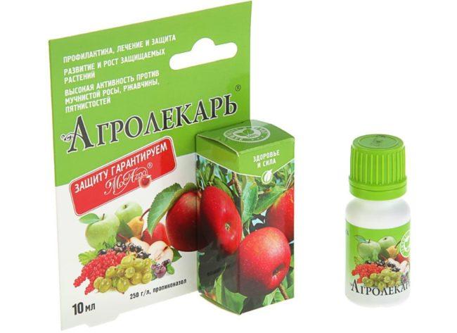 Упаковка препарата Агролекарь для ухода за садом