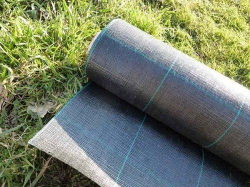 Агроволокно в рулоне с разметкой для посадки клубники