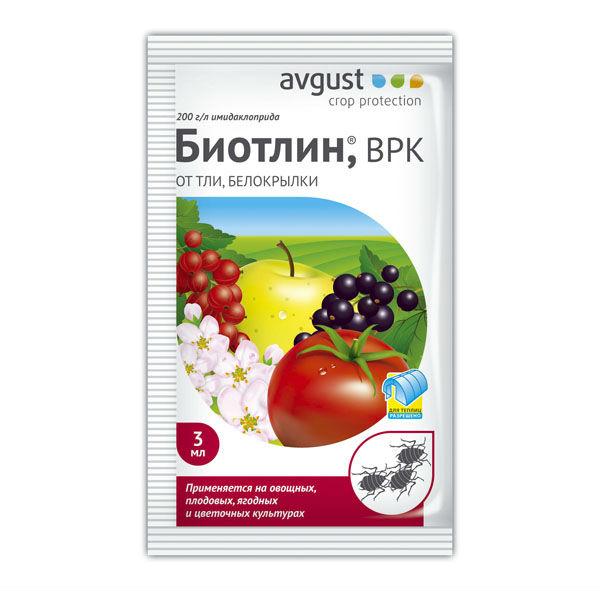 Препарат Биотлин для борьбы с вредителями клубники