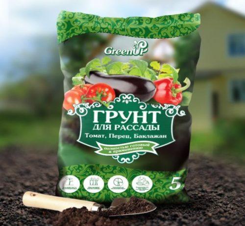 Пакет плодородного грунта для выращивания рассады
