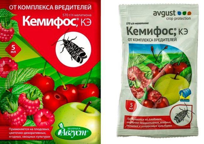 Пакеты с препаратом Кемифос