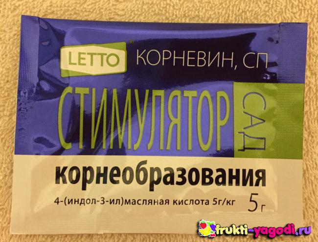 Стимулятор корнеобразования Letto