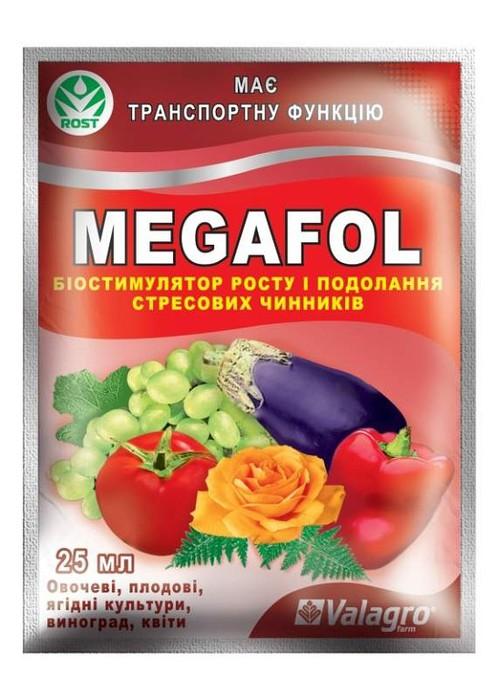 Пакет препарата Мегафол для повышения иммунитета клубники после зимней спячки