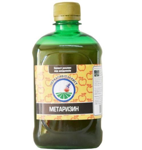 Средство Метаризин для борьбы с личинками майского жука