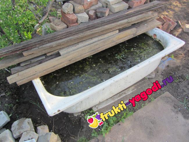 Компостная ванна для приготовления подкормок