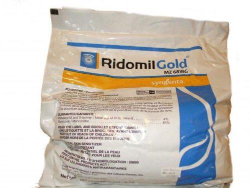Пакетик с препаратом Ридомил Голд