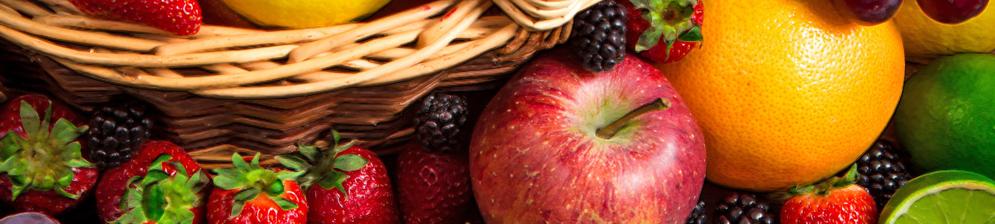 Фрукты и ягоды вблизи