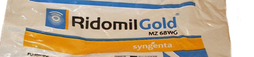 Ридомил Голд упаковка препарата
