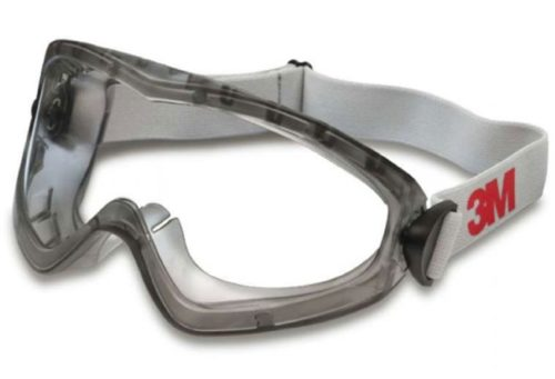 Защитные очки для работы с химическими препаратами при опрыскивании виноградной лозы