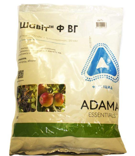 Большой пакет двухкомпонентного препарата Шавит для обработки винограда
