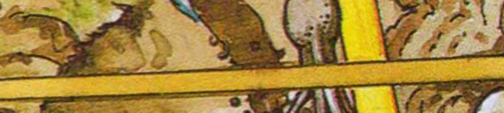 Карикатура корень черешни при посадке и разметка рулеткой