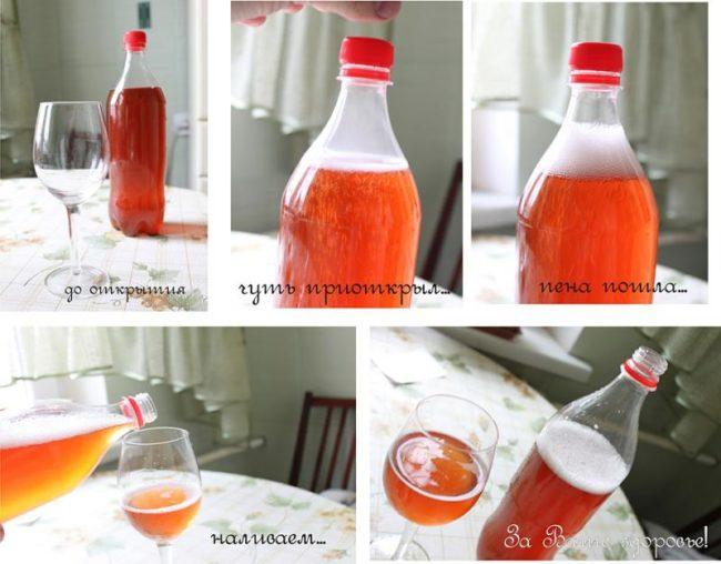 Процесс дегустации игристого вина из винограда гибридного сорта Альфа