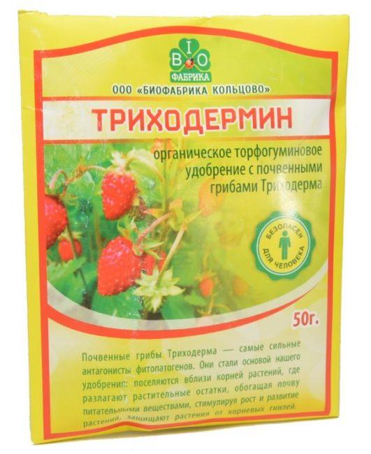 Пакет органического торфогуминового удобрения Триходермин для профилактики и лечения заболевания картофеля