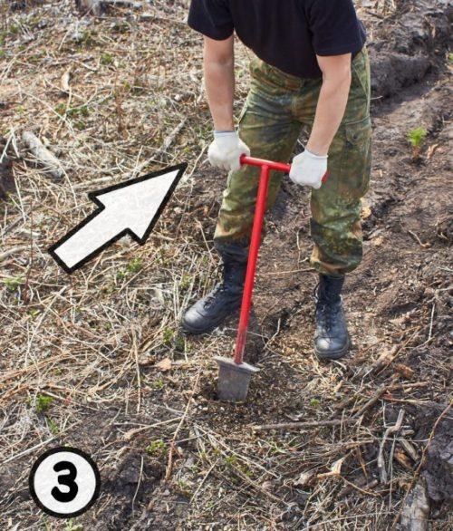 Применение меча Колесова для создания щелей в грунте