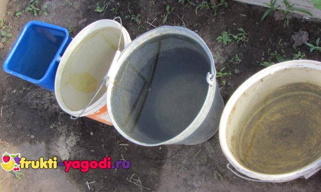 Вода в теплице для полива тёплой температуры