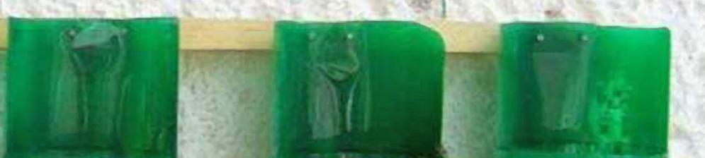Кашпо из пластиковых зелёных бутылок