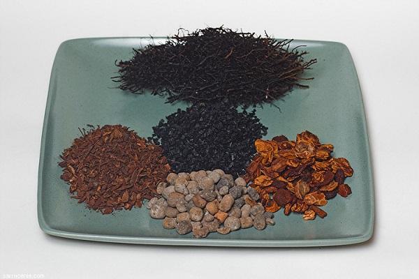 Скорлупа орехов и другие компоненты субстрата для выращивания орхидеи