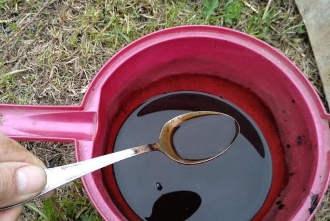 Водный раствор универсального удобрения Фитоспорин для обработки смородины