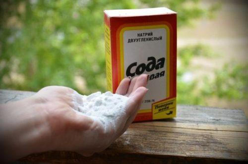 Пищевая сода для лечения болезней белой смородины